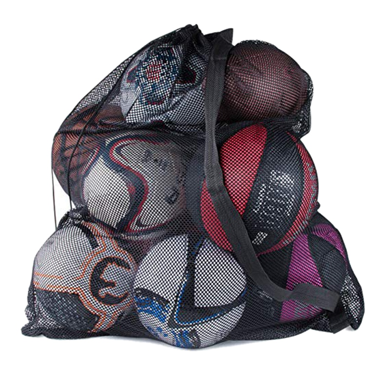 Large-Capacity Outdoor Sports Bag Football Basketball Bag Sports Storage Beam Net Backpack Multi-Function Outdoor Sports Ball