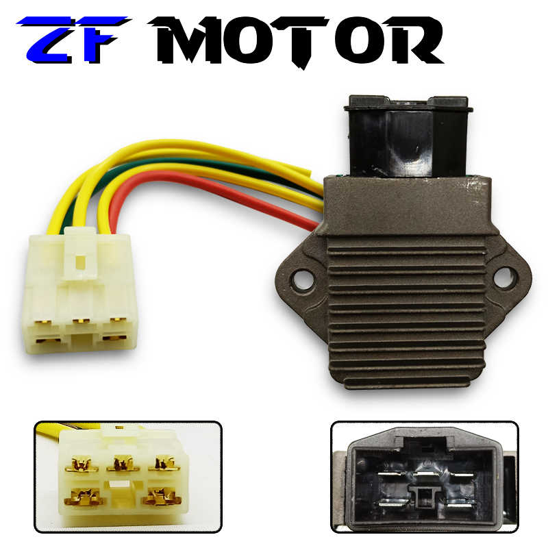 Выпрямитель Напряжение регулятор Зарядное устройство с вилкой для HONDA CBR 250 NSR 250 CB-1 VFR 400 ЛРВ 400 NC 35 NC 30 CB 400 мотоциклов
