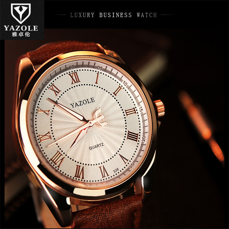 YAZOLE 2016 Luminous Quartz Watch Men Watches Brand Famous Wrist Watch Male Clock Quartz-Watch Montre Femme Relogio Feminino C95