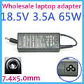 18.5V 3.5A 65W 7.4 x 5.0mm Power Supply AC Adapter Laptop charger for HP Notebook