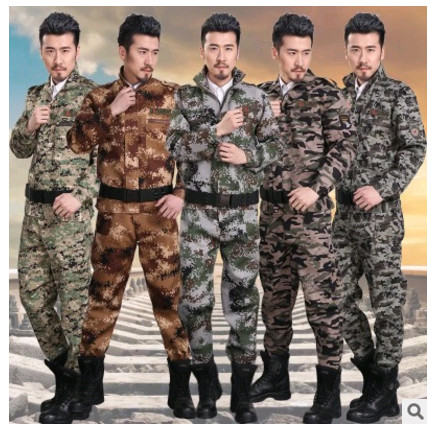 Outdoor men's Jacket +Pant sets Military jacket tactical hiking hunting Camouflage Army uniform combat working Airsoft clothes