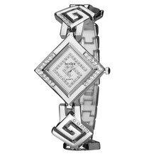 Fashion Brand Watch Women Luxury Silver Golden Diamond Bracelet Vintage Dress