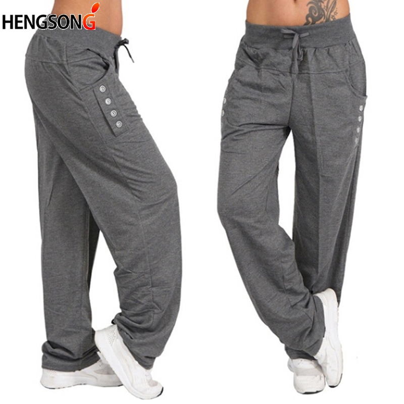 Men Pants Male Trousers Harem Hip-Hop Fitness Solid Plus-Size Brand title=