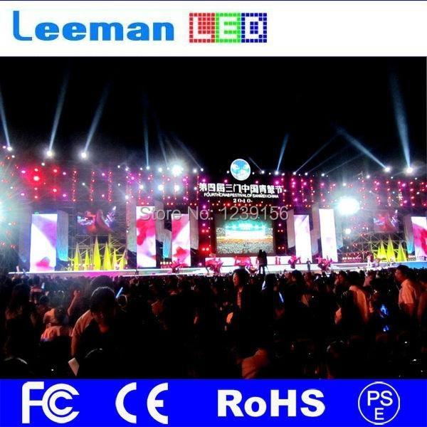 Leeman P3 super slim rental led display screen p15 led video wall screen
