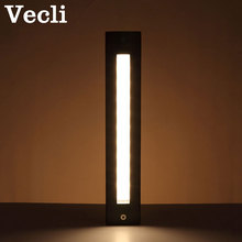 Led step lamp waterproof stair lighting fixtures embedded square park aisle Luminaria outdoor foot wall light цена и фото