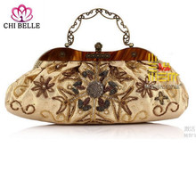 Beaded purses Marriage Female hand Embroidered luggage Dress hobos Evening
