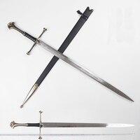 ลอร์ดออฟเดอะริง Aragorn II Narthil ดาบยาวความยาว 132 ซม. น้ำหนัก 2.6 กก. home decor