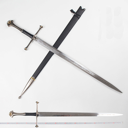 Herr der Ringe Aragorn II Narthil Lange Schwert länge 132cm gewicht 2,6 kg edelstahl wohnkultur