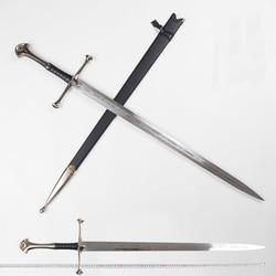 Il signore degli Anelli Aragorn II Narthil Spada Lunga lunghezza 132 centimetri peso di 2.6 kg In acciaio inox decorazioni per la casa