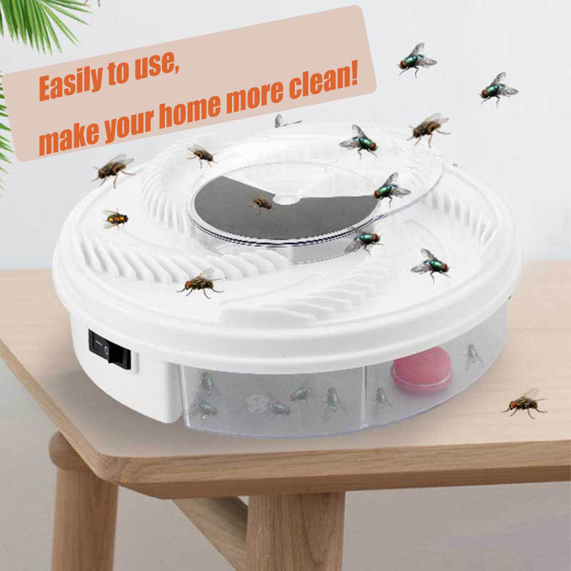 Electric Fly Trap Device with Trapping Food Pest Control Electric anti Fly Killer Trap Pest Catcher Bug Insect Repellents