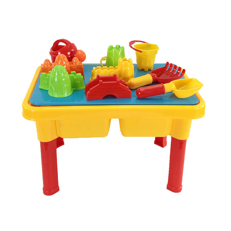 Sand and Water Table with Beach Play Set for Kids-in Noise