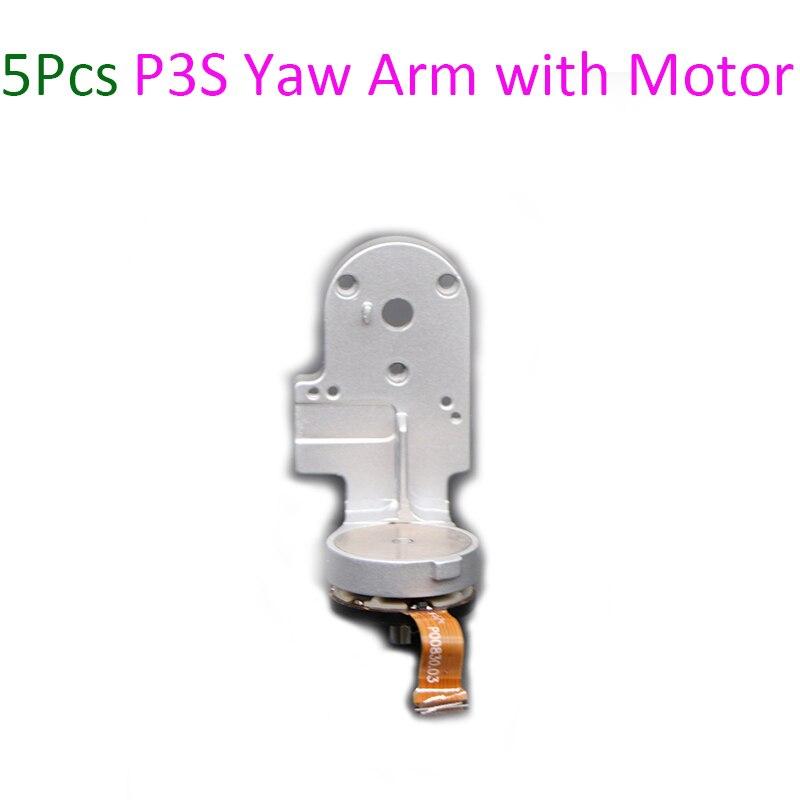 5Pcs Original Repair Parts Phantom 3 Standard Yaw Arm with Motor Spare Parts for DJI Phantom
