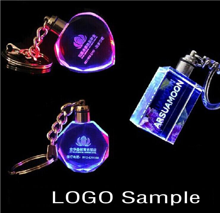 Personalizirani dizajn lasersko graviranje Crystal privjesak LED - Za blagdane i zabave - Foto 2