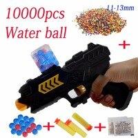 10000pcs Gun Water Ball Orbeez Balls Soft Paintball Gun Pistol Soft Bullet CS Water Crystal Gun