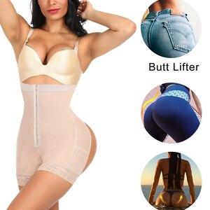 Image 3 - Hexin cinta de treino de cintura alta, levantador de bumbum, modelador, emagrecimento, calcinha modeladora