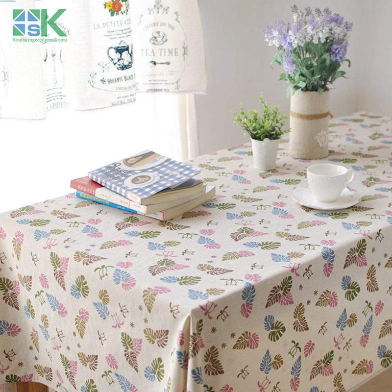Superb 2016 Summer New Spring And Summer Fashion Simple Cotton Tablecloths And  Fresh Coffee Table Computer Table