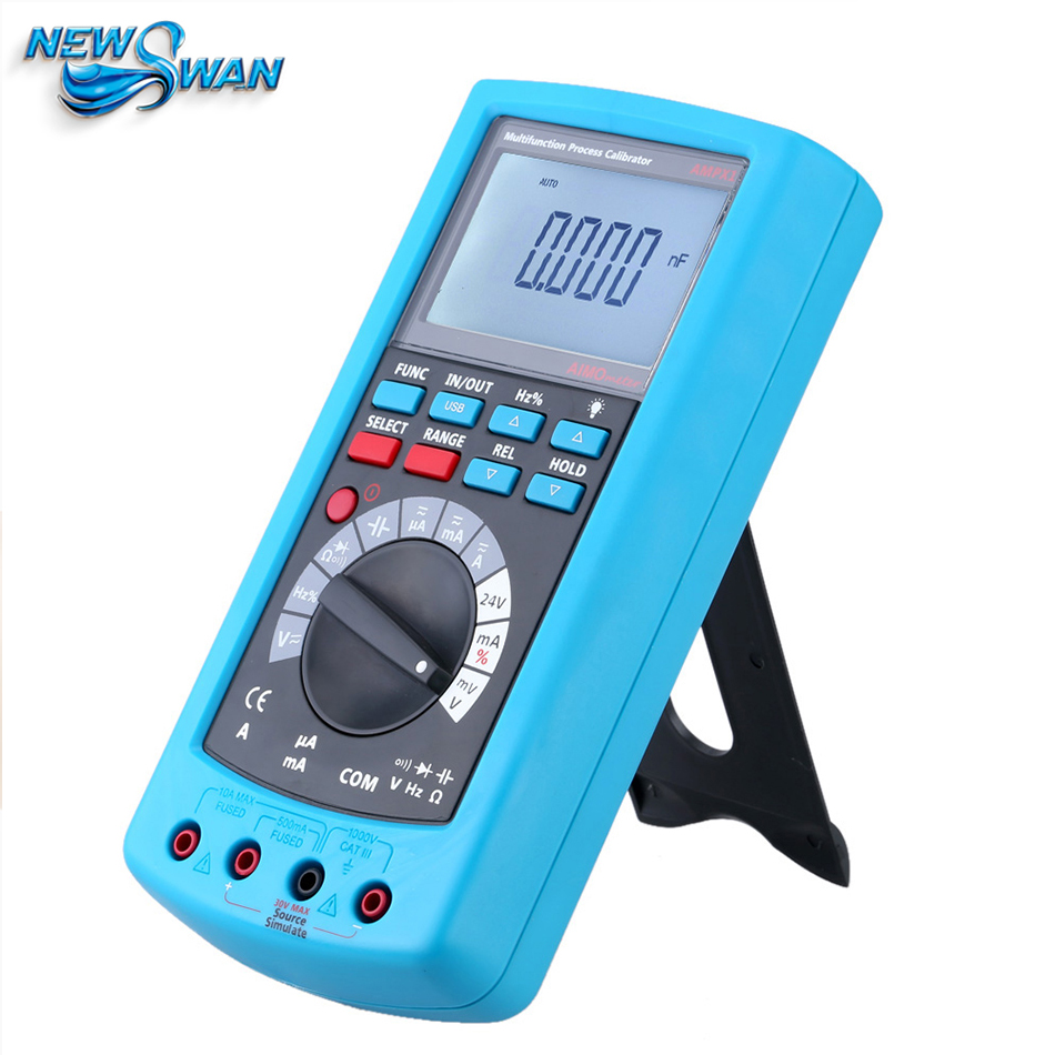 Professional High Sensitive ANEMOMETER Multifunctional Process Calibrator 4-20mA Signal Generator Current And Voltage hantek ht824 multifunction process calibrator correction voltage and current frequency usb signal generator industry inst