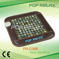 POP RELAX far infrared anion Natural jade stone heating seat mattress PR-C06B 45x45cm