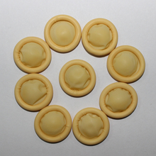 200pc pure natural latex powder-free finger cot Protective Fingertip Antistatic cleanroom Yellow ESD watch Jewellery work gloves