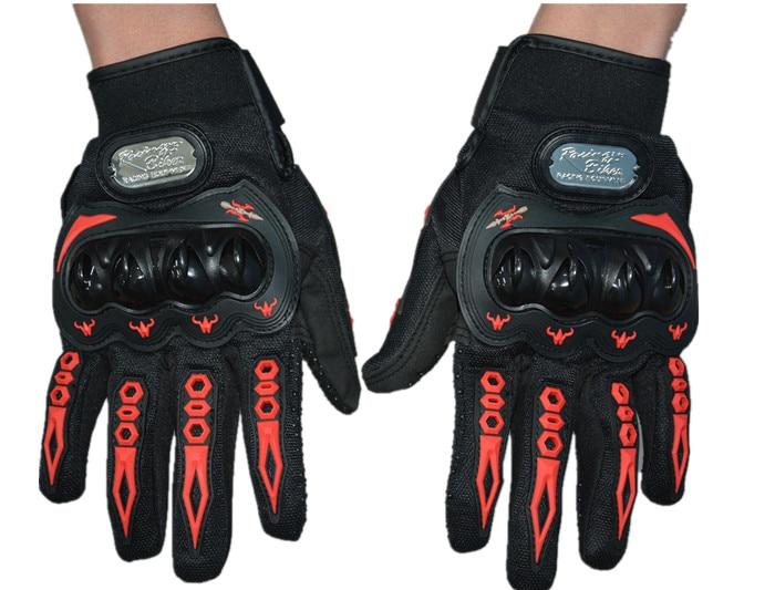 SALG !! Sommer vinter fuld finger motorcykel handsker gants moto luvas motocross læder motorcykel guantes moto cykel løbshandsker