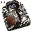 Langmeng 2016 теплый 100% Хлопок камуфляж рубашки мужские с длинным рукавом рубашки случайным Мужчины Meisai Камуфляж Армии Боевой Верхней Одежды Военная