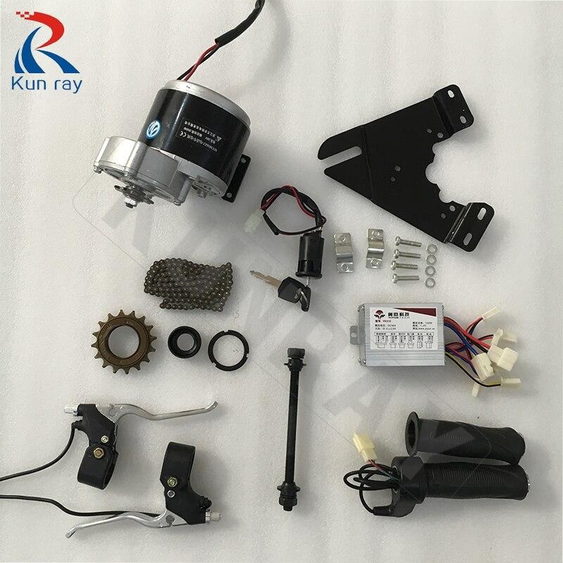 Kit de moteur de bicyclette bricolage 22