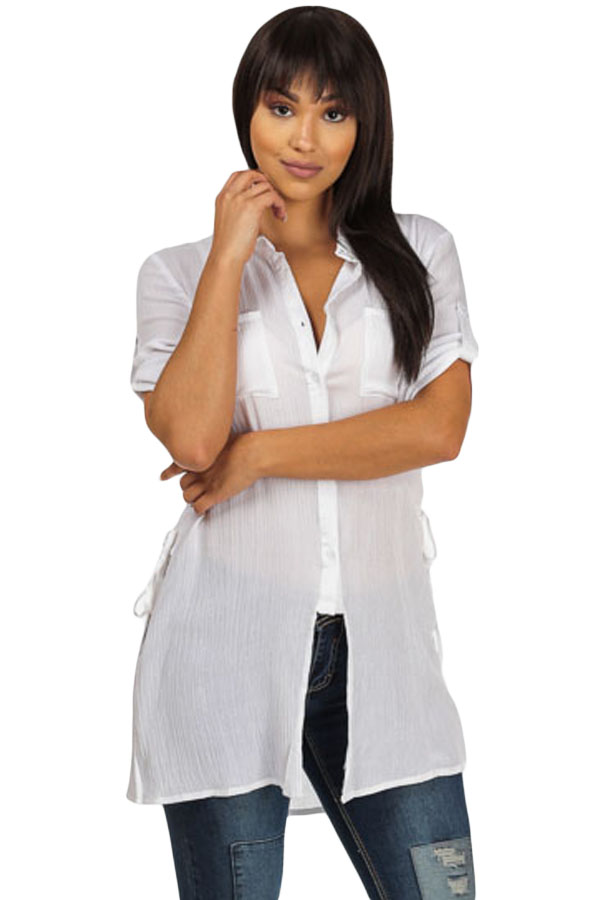 High Quality Button up Shirt Promotion-Shop for High Quality ...