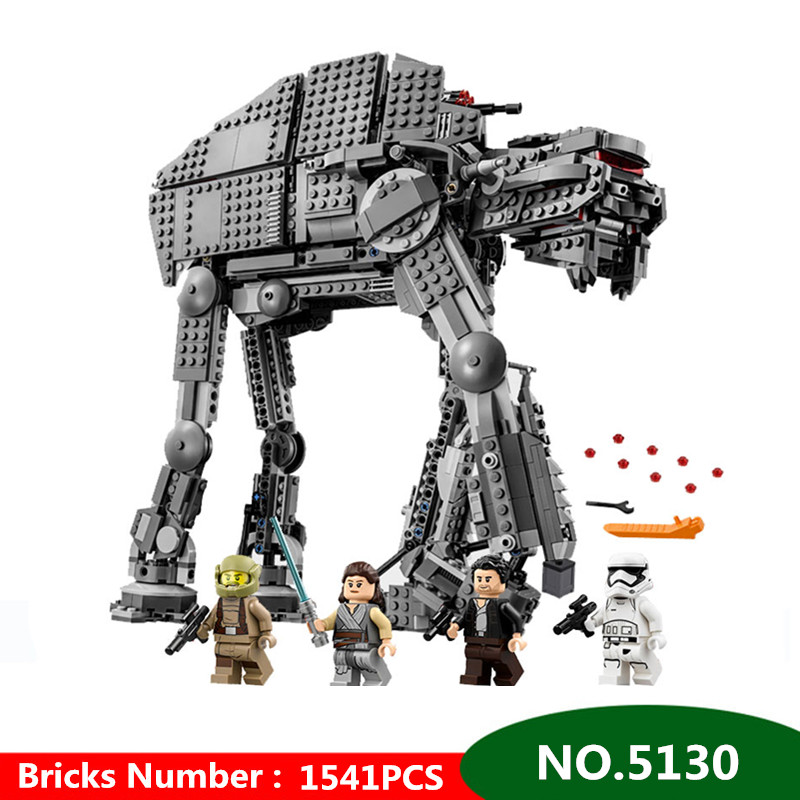 1541pcs Diy Building Blocks Star Wars First Order Heavy Assault Walker Comptiable With Legoingly Toys For Children kids gift1541pcs Diy Building Blocks Star Wars First Order Heavy Assault Walker Comptiable With Legoingly Toys For Children kids gift