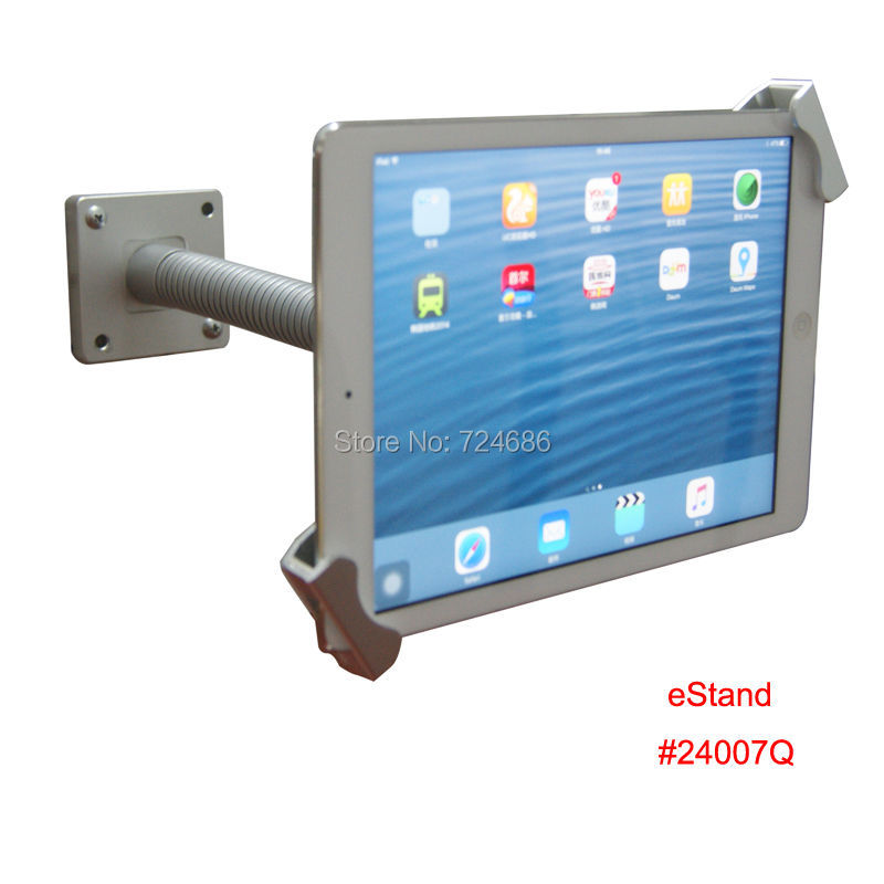 universal inch tablet wall mount with lock safety locking bracket display for samsung - Tablet Wall Mount
