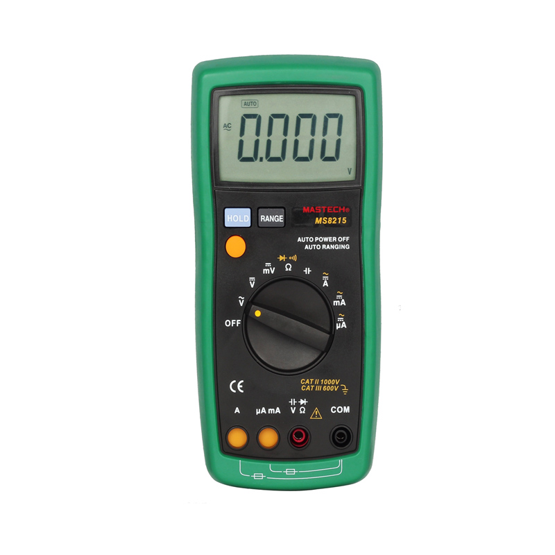ФОТО MASTECH MS8215 handheld Digital Multimeter DC AC Voltage Current Tester capacitance frequency resistance Tester detector