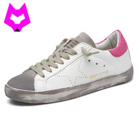 Zapatillas Mujer Designer Dirty Old Couple Shoes Unisex Flat Golden Footwear Tenis Feminino Women Dirty Shoes