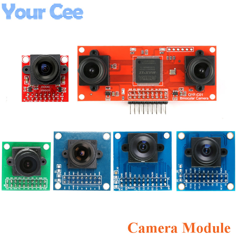 Camera Module OV7670 OV5642 OV7670 with FIFO OV7725 Kit Binocular Camera STM32 Driver for Arduino OV