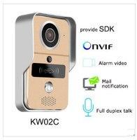 Smart IP video door phone doorbell Wireless Wi Fi camera for doorbell for an apartment IR alarm system wireless security camera