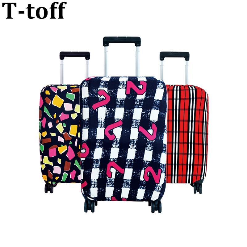 Reise auf Straße Gepäck Abdeckung Schutzhülle Koffer abdeckung trolley Reise Gepäck Staub abdeckung für 18 zu 30 inch