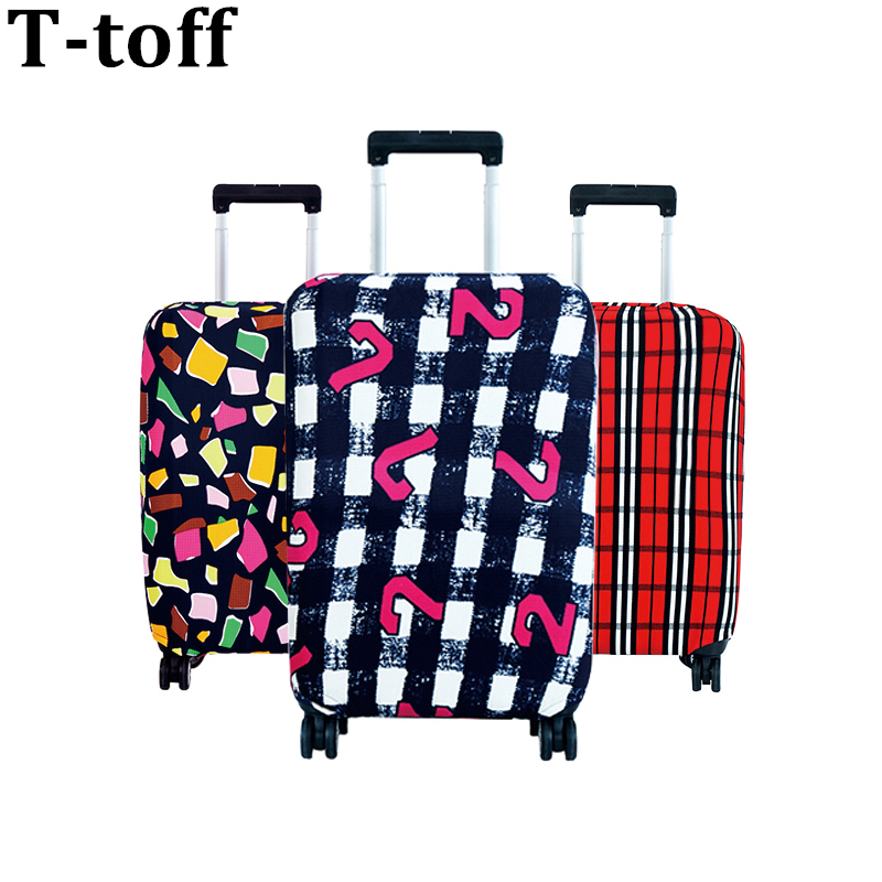 Travel on Road Luggage Cover Protective Suitcase cover Kasut troli Travel Luggage Debu cover for 18 to 30inch