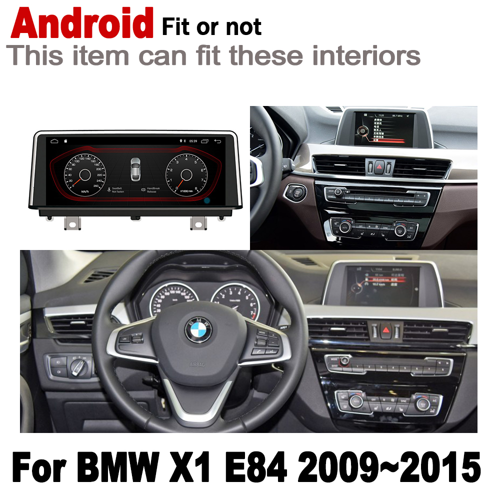 Flash Deal 2G+16G Android 7.0 up Car radio GPS multimedia player For BMW X1 F48 2015~2019 Navigation WiFi BT Radio Media 1