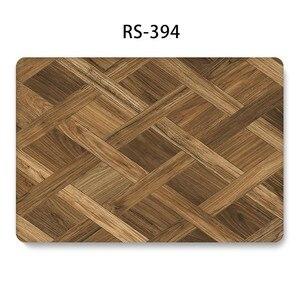 Image 2 - Mode Holz Gemalte Laptop Fall für MacBook Retina Pro Air 13 15 12 zoll Harte Stoßfest Fällen für A1990 A1706 a1398 PVC Abdeckung