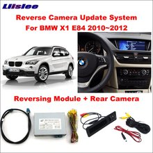 Liislee Original Screen Monitor Update For BMW X1 E84 2010~2012 CIC System Reversing Module + Rear Camera / Decoder Track Box