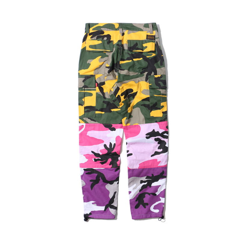 a8c0d73726 Men's Clothing for Pants: Limited Offer LEOCLOTHO Tri Color Camo ...
