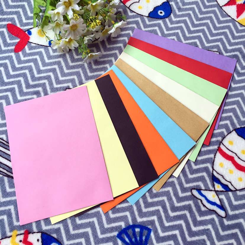 5PCS Colored Envelopes 3# 170x125mm 110GMS Greeting Card Postcard Decoration Envelope 15PCS
