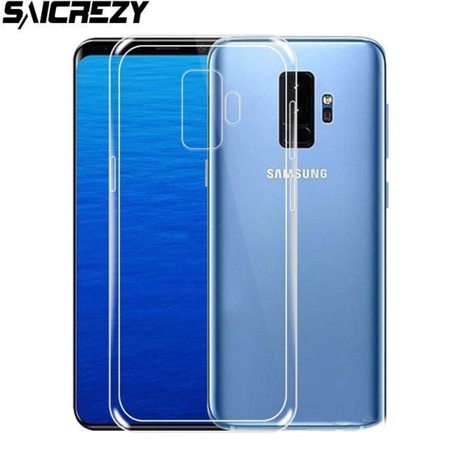 newest collection 9af4c 48eeb US $3.47 19% OFF|Clear Case For Samsung Galaxy J8 2018 Ultra Thin  Transparent Soft TPU Back Cover Shell for Galaxy J3 J4 J6 J7 A6 Plus A7  2018-in ...
