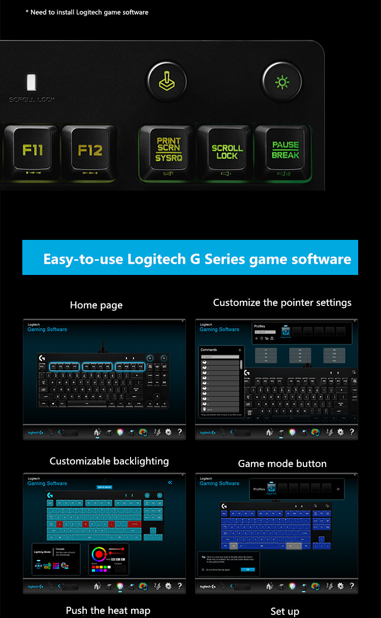 China logitech gaming Suppliers