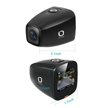 1080P car DVR OnReal A1 basic+ Negative oxygen ions gsensor motion detection dashcam 360 degree rotate dash camera