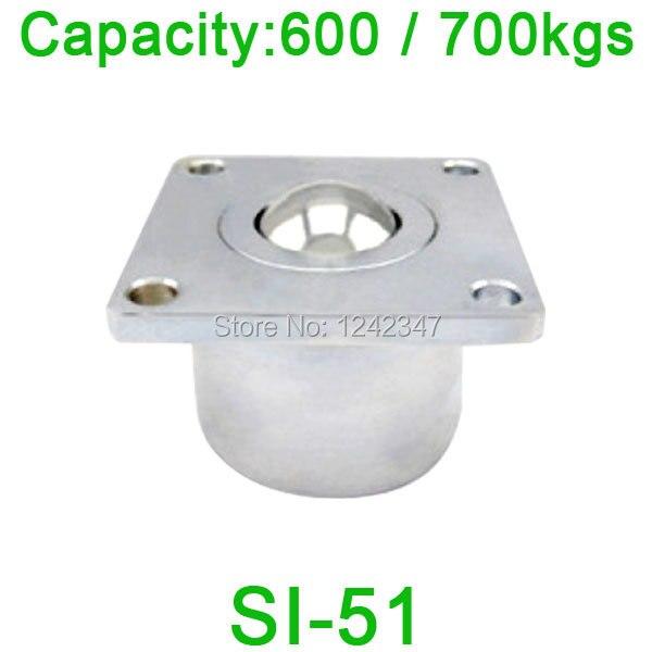 SI51 600kgs / 700kgs load capacity, Heavy Flange Ball transfer unit,SI-51 machine tooling ball bearing unit