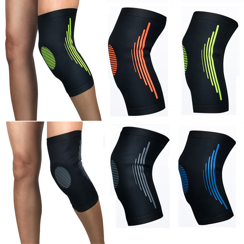 Elastic Compression Knee Pad Breathable Outdoor Sports Running Protective Gear SPSLF0015
