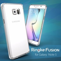 100 Original Ringke Fushion Case For Samsung Galaxy Note 5 Full Protection Clear Back Cover Phone