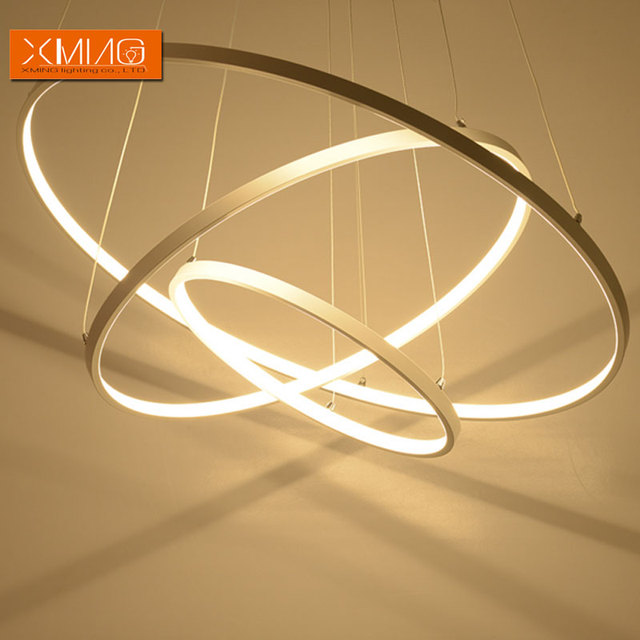 Lamp Shade Ring Remote control modern led pendant lights 3 ring acrylic lamp shade remote control modern led pendant lights 3 ring acrylic lamp shade for dining room living room audiocablefo