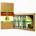 Zhongke Ganoderma Lucidum té adelgazante Quema de grasa Verde de alimentos saludables Del Té bueno para resolver endocrino de la piel de color amarillo oscuro de la piel