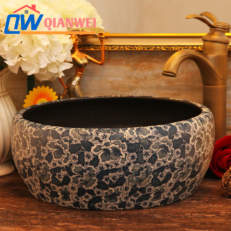 Sell Jingdezhen Art Porcelain Bathroom Wash SinksSell Jingdezhen Art Porcelain Bathroom Wash Sinks