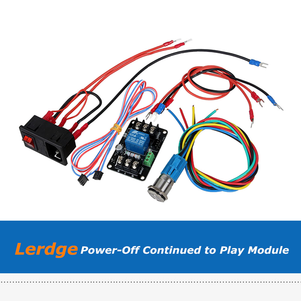 Lerdge-X Lerdge-K 3D Printer Part Power-Off Continued to Play Regulator Module Power Monitor Expansion Module For Lerdge Board